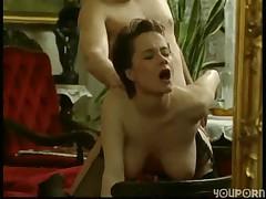 Hairy Muff Brunette -