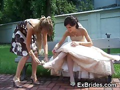 Real Slutty Brides!