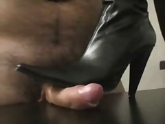 bootjob and clean pussy