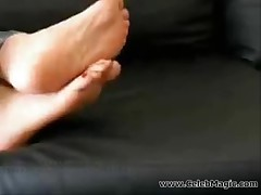 Bare Female feet compilation