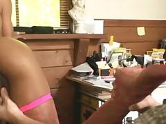 Marie Luv foot fetish