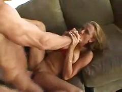 Teen girl giving head then let fuck and take facial