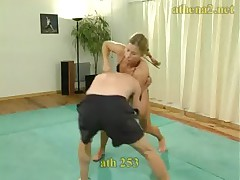 Competitive Mixed Wrestling with Antscha