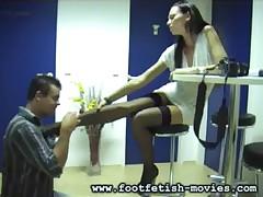 Foot Worship and Foot Slaves
