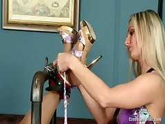 Ashley Bulgari and Vendula Bednarova Lesbian Foot Fetish