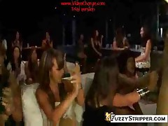 Crazy CFNM Stripper Party Orgy