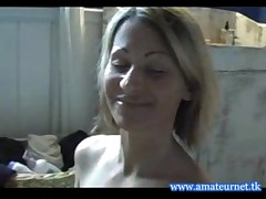 Sexy amateur mature gives great handjob