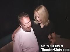 Shy, Timid, Shawna Takes Strangers Cumshots