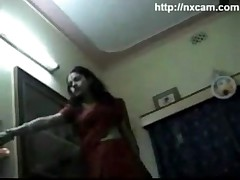 Nepali Girl Stripping and Kissing Boyfriend