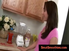 petite girl gets ass smoothie with speculum