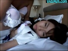 White Dress Petite Cosplay Lolita Fucked