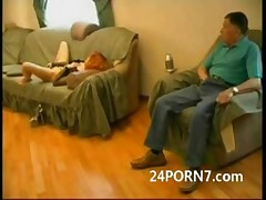 Grampa sleeping