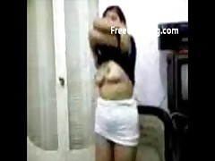 Cute Sexy Indian Girl Play With Boobs
