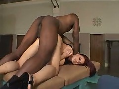 Melanie Jagger analed by Mandingo