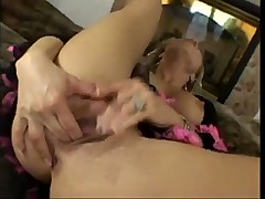 This Hot Babe Is Taking On Two Hard Cocks