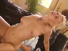 Damn hot anal sex with a feisty blonde