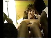 slut wife gets creampied by bbc part-1