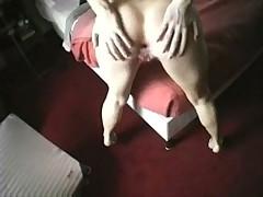 Busty slut sucks and anal fucks