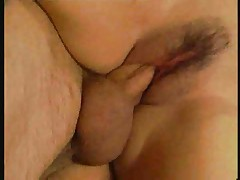 Amateur anal sex in kitchen