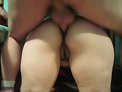 Home video-anal to my wife and cum over her big asshole