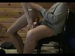 Skinny girlfriend play and fuck very nice