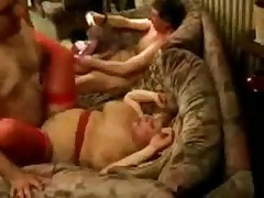 Homemade Orgy Party