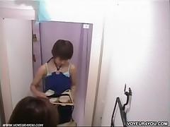 Fitting room voyeur movie