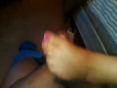 Tt's first foot job