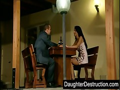 Cute daughter humiliation
