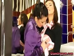 Hot classy european lesbians