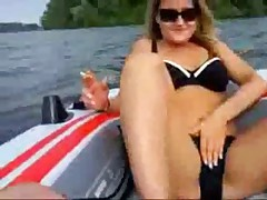Public Masturbation in Boat