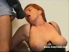 German Busty mature