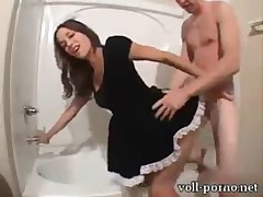 fucking our house maid