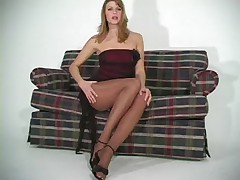 Monica Sweet in Nude Pantyhose - Part I