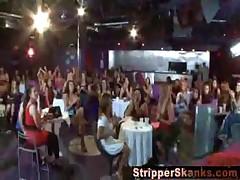 Birthday girl sucks stripper to completion