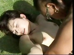 outdoor asian fucked