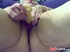 Fat slut granny 71 years old having fun on cam