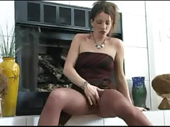 Adrianne's Pantyhose Tease