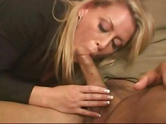 Babysitter and wife do anal
