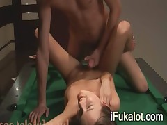 ivana deepfucking on pool table