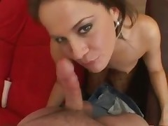 Cock gobbler sucks you in POV