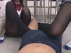 Asian School Girl Hot Legs