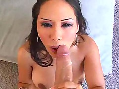 Hot Asian Loves Sucking Dick
