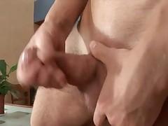 Ken undress cock in the kitchen