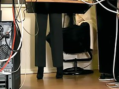Secretary underdesk compilation