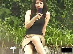 Dial A for Asian girls bending over