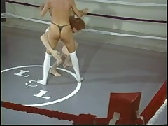 Blake Mitchell wrestles man 2