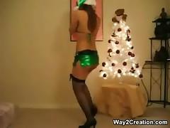 Green Pvc Micro Skirt