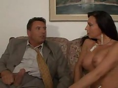 Milf with perky tits and stockings seduces him www.beeg18.com