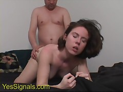 YesSIgnals - Condom breaks on a cute brunette on a wild blind date